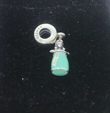 Authentic Pandora Silver Dangle Disney Alice's Magic Potion Bead 791897ENMX