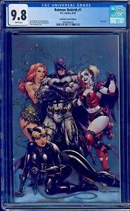 Batman #1 FOIL VARIANT CGC 9.8 UNKNOWN COMICS TYLER KIRKHAM COVER ART NM/MT