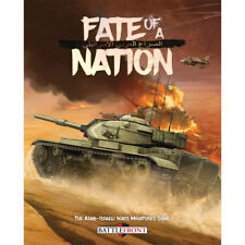 Fate of a Nation The Arab-Israeli Wars Miniautures Game Battlefront Hardcover