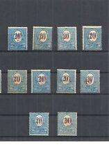 Oberschlesien, 1920 Michelnrn: 11, I - IV a/b *, ungebraucht *, Katalogwert € 50