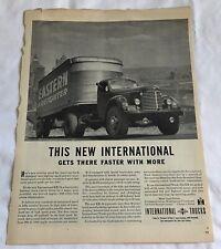 International KR-12 Truck Cab, Advertisement, Eastern Freighter