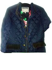 Joules Navy Quilted Jacket Size 14