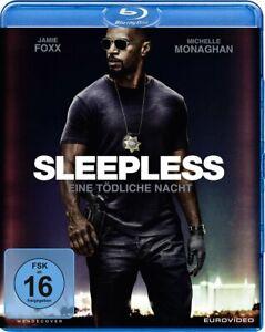 Sleepless - Eine tödliche Nacht [Blu-ray/NEU/OVP] Jamie Foxx, Michelle Monaghan,