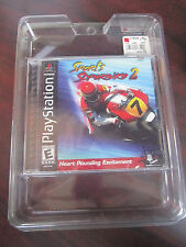 SPORTS SUPERBIKE 2  Sony PlayStation PS1 NEW Sealed Unpunched Tab