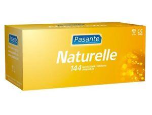 144x Pasante Naturelle Condoms - Real Natural Feeling ***Fast Discreet P&P**