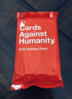 Cards Against Humanity - 2012 Holiday Pack - Expansion Set New Stocking Stuffer