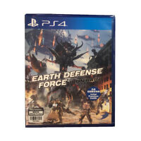 Earth Defense Force Ironrain PlayStation PS4 2019 English Chinese Japanese