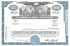 PAN AMERICAN WORLD AIRWAYS INC....1976 COMMON STOCK CERTIFICATE
