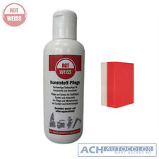 Rotweiss Plastic Cleaner Maintenance for & Faux Leather 250ml 7250+ pro Sponge