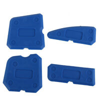 Caulking Tool Kit Joint Sealant Silicone Grout Remover Scrapers Set Blue Hot x 4