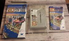 Sim City 2000 - Nintendo Super Famicom J-NTSC SNES - MINT condition
