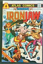 BARBARIANS. IRON JAW. NO 1.  BRONZE AGE 1975 ATLAS COMICS ISSUE. MARCOS-ART.