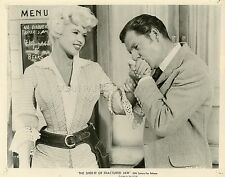 JAYNE MANSFIELD KISS THEM FOR ME  1957 VINTAGE PHOTO ORIGINAL #1