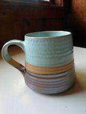 Vintage Boston Warehouse Trading Corp. Coffee Mug Stoneware Iridescent
