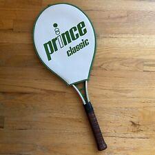 "Vintage 1982 Prince Classic Series Aluminum Tennis Racquet 4 5/8"" EUC"