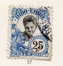 Indo China 1920s Early Issue Fine Used 25c. 162612