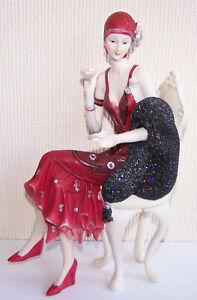 Art Deco Lady Figurine