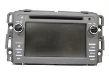 13 14 15 GM ACADIA XM SAT TOUCH SCREEN RADIO  AM/ FM DVD CD AUX PLAYER 23162867