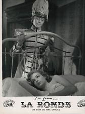 Photo originale Simone Signoret Gérard Philipe La ronde  Max Ophüls
