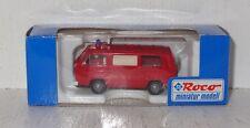 D113 Roco 1377 VW T3 KTW RTW Feuerwehr neutral 1:87 OVP