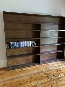 Large Hard Wood Shelves
