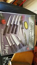 3 sets Shappu 2000 Stainless Steel 10pc Professional Cutlery Knife