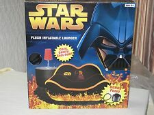 2005 STAR WARS DARTH VADER PLUSH INFLATABLE CHAIR/LOUNGER REVENGE OFTHE SITH NIB