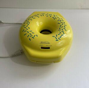 Sunbeam Yellow Donut Maker