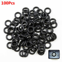 100Pcs 8mm Black Mechanical Keyboard Keycap Rubber O-Ring Switch for