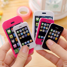 iPhone Shaped Rubber Pencil Eraser Fun Gift Toy Students Creative Stationery 1PC