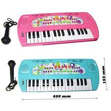 Kinder Spielzeug Keyboard Piano Kinderpiano Klavier Musikinstrument Mikrofon Neu