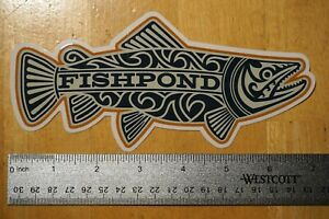 FISHPOND MAORI TROUT STICKER Fishpond 7 in x 3.25 in Fishing Decal