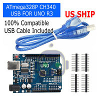 UNO R3 ATmega328P CH340 USB Board for Compatible Arduino DIY