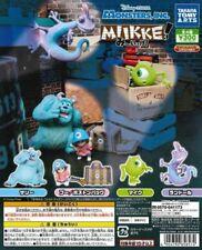Takara Tomy Disney Pixar Monsters inc MIIKKE Capsule Figure Completed Set 4pcs