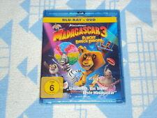 Madagascar 3: Flucht durch Europa  [Blu-ray + DVD]  NEU OVP