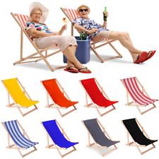 Strandliege Sonnenliege Gartenliege Liege Klappliege Liegestuhl Holz Relaxliege
