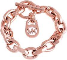 Michael Kors Bracelet MKJ2752791 Lock Chain Rosegold Bracelet Agsbeagle