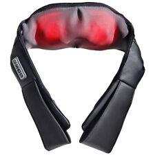 Electric Heating Shiatsu Kneading Massager Massage Belt for Neck/Shoulder/Back