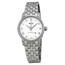 Mido Baroncelli Automatic White Dial Stainless Steel Ladies Watch M76004261-AU
