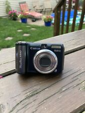 Canon PowerShot A640 10.0MP Digital Camera - Black with flip out screen