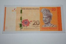 (PL) NEW: RM 20 BK 1706752 UNC EPQ ZETI CUTTING / PRINTING ERROR NOTE