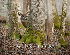Whitetail Deer Motivational Poster Art Buck Deer Antler Sheds Bow Hunting MVP398