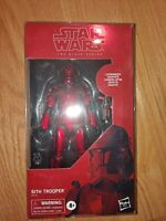 """Star Wars The Black Series 6"""" Carbonized Sith Trooper Amazon Hasbro In Case New"""