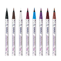 NOVO Waterproof Long-lasting Eyeliner Colorful Matte Liquid Eyeliner Pencil SALE