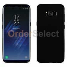 HOT! Ultra Slim Protector Candy Glossy Phone Case for Samsung Galaxy S8 Black