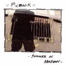 PINBACK - Summer In Abaddon [digipak] (CD, 2004, Touch & Go Records)