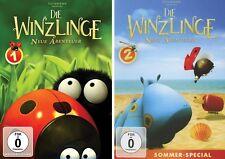 2 DVDs * DIE WINZLINGE - NEUE ABENTEUER VOLUME 1 + 2 IM SET # NEU OVP &