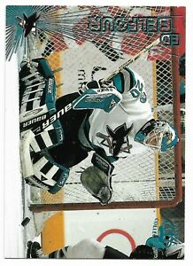 1997-98 Pacific Crown Collection Ice Blue #20 Ed Belfour (San Jose Sharks)