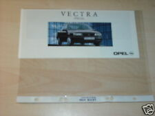 10805) Opel Vectra A Special Prospekt 199?