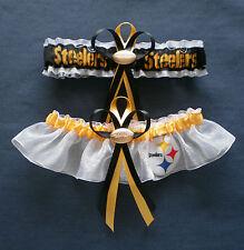 Pittsburgh Steelers  Wedding Garter Set football charm sport